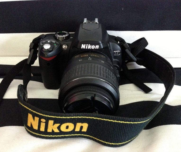 Meet Alexander, my Nikon D60.