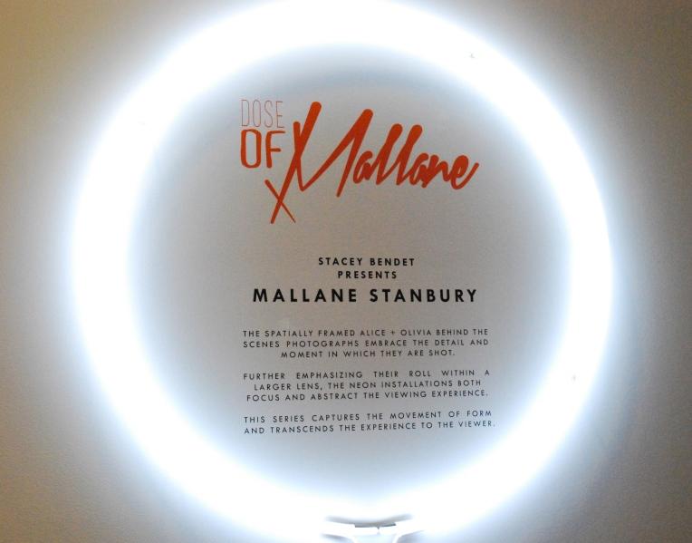 Dose of Mallane. Exhibition information.