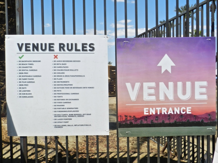 Please observe the Venue Rules.