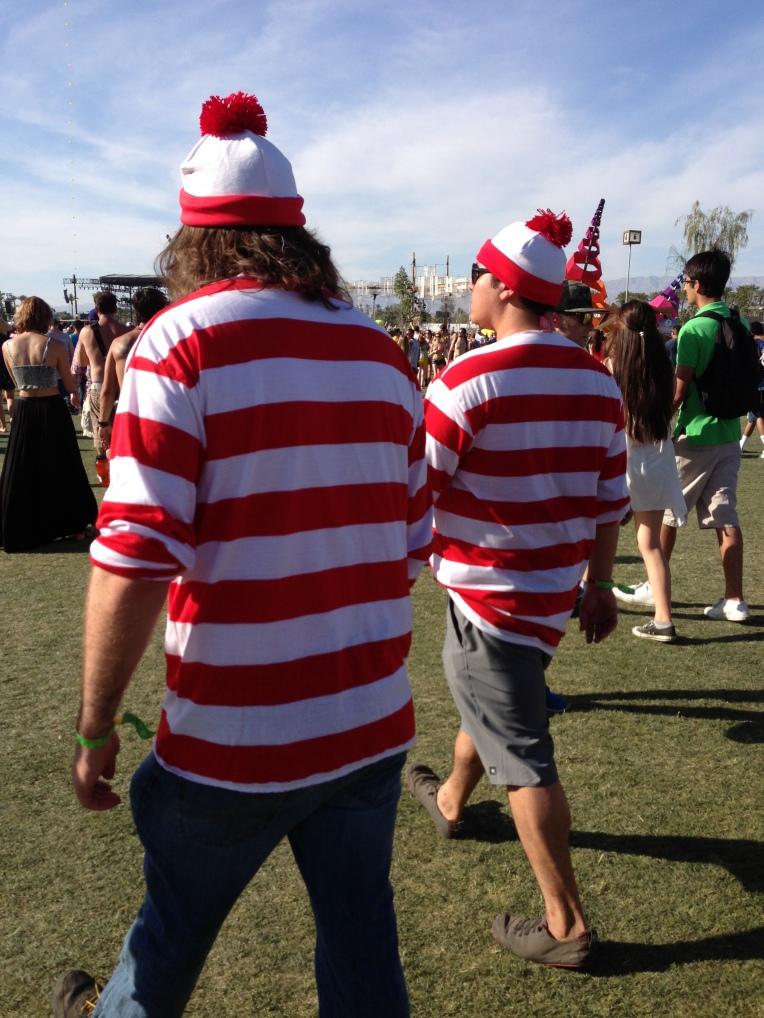 Waldo 1 & Waldo 2 made an appearance at Coachella.