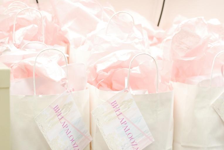 Bellapalooza gift bags