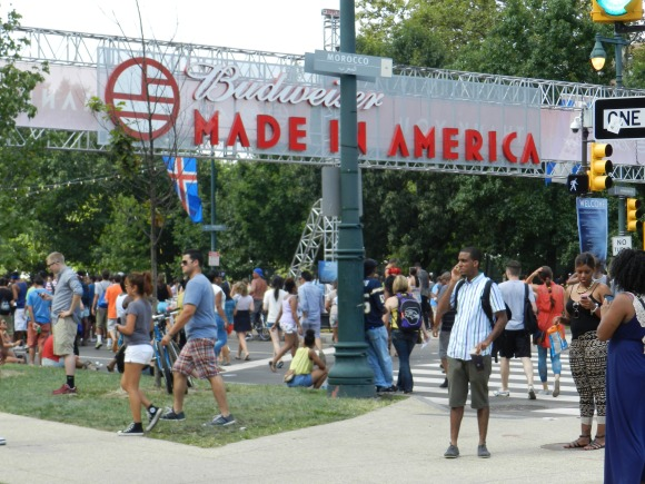 Welcome to the Budweiser Made in America Festival!