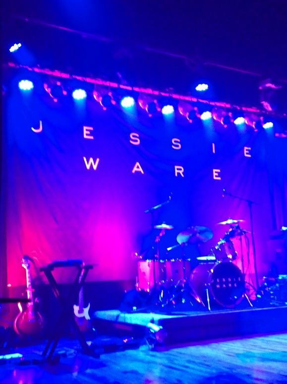 The stage at Warsaw for Jessie Ware