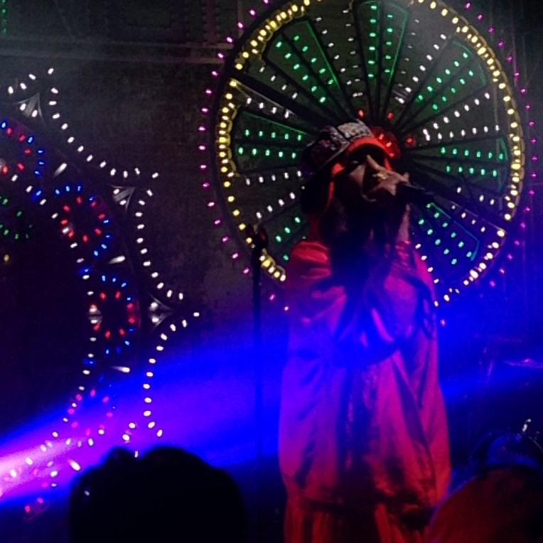 M.I.A. killing the stage