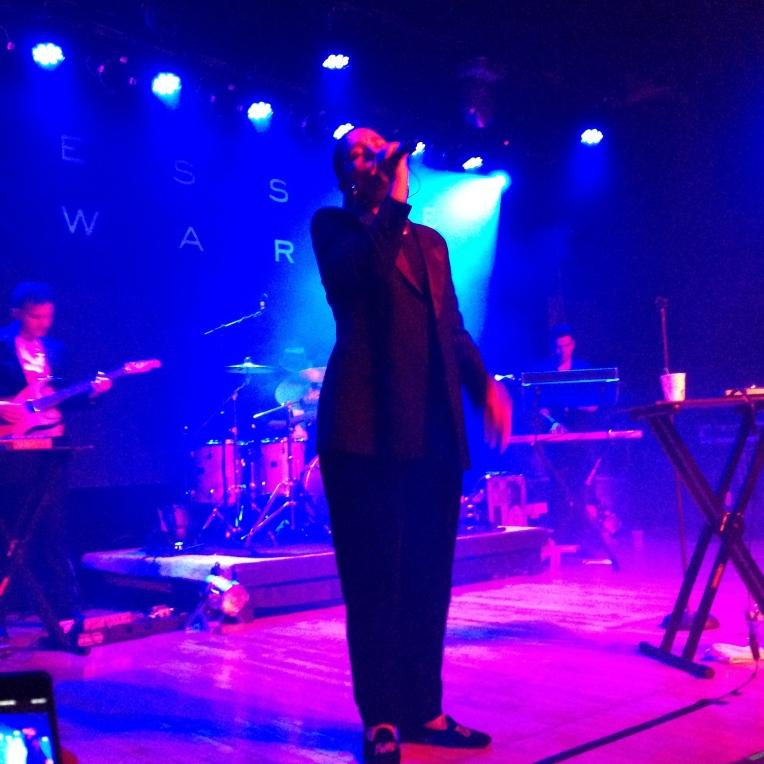 Jessie Ware singing