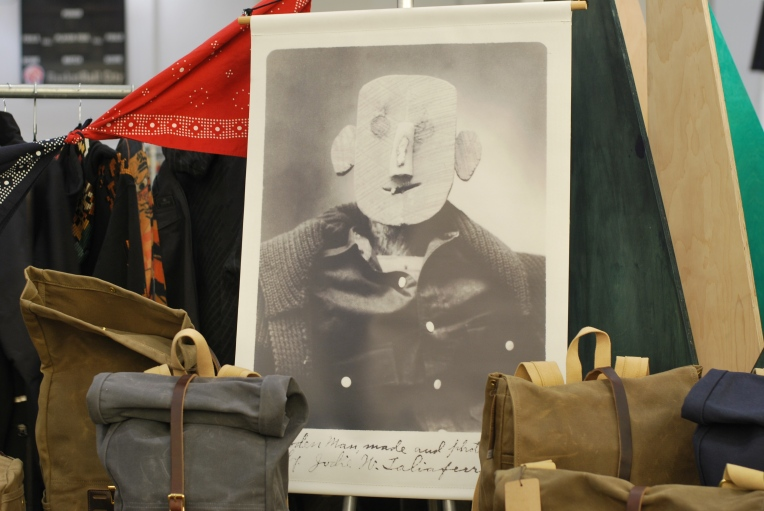 Display at the Archival Clothing Booth