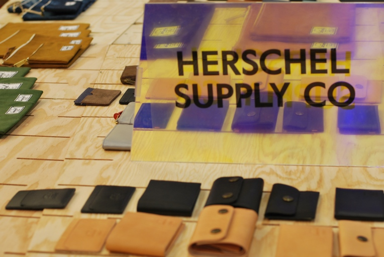 Small leather goods by Herschel Supply Co.