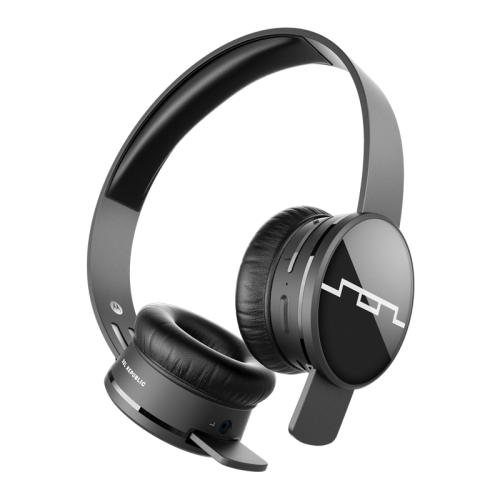 "SOL Republic ""Tracks Air"" Wireless Headphones in Gunmetal"