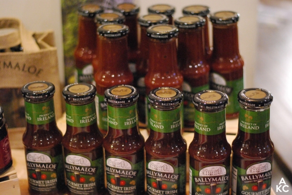 A selection of Ballymaloe Gourmet Irish Ketchups