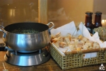 Kerrygold cheese fondue station