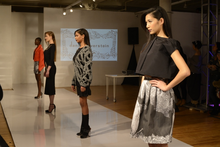 A selection of looks from Daniel Silverstein's fall collection.