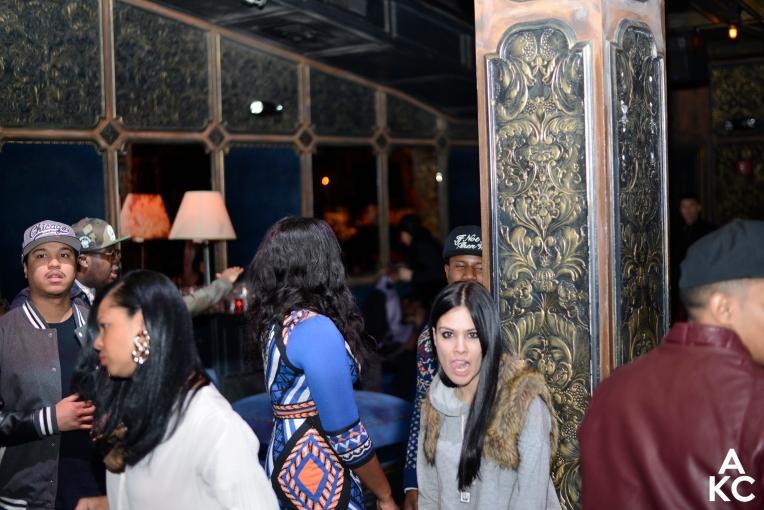Photo of the crowd, including DJ Nana Kobra