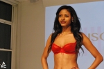 A lovely red ensemble at Lingerie Fashion Night In