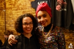 Yuna and I after the show, snapped by Ashante