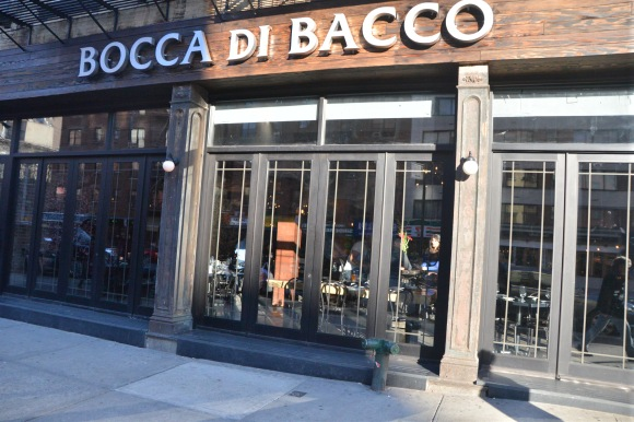 The street view of Bocca di Bacco