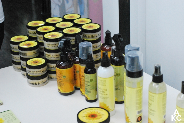 A spread of Jane Carter Solution products