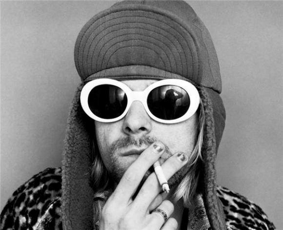 Kurt Cobain--Smoking C, Ver 2. By Jesse Frohman