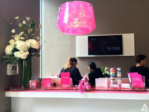The entryway of Blo Chelsea