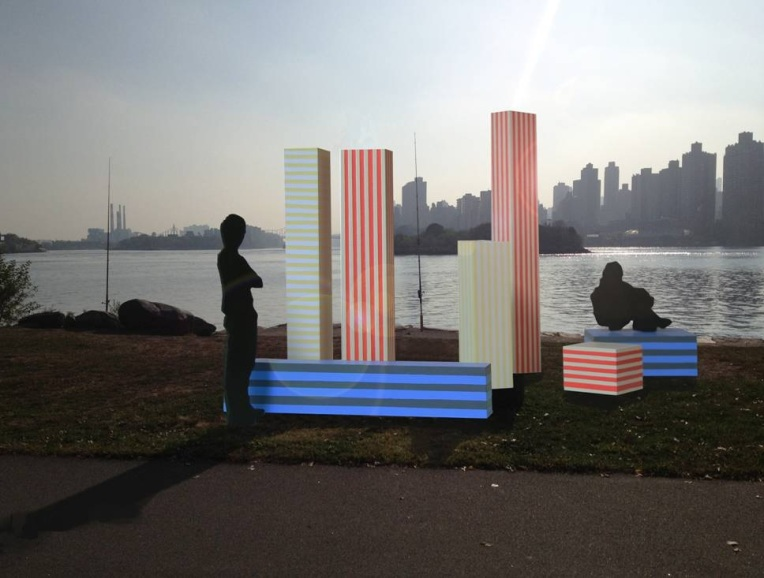 """City Pillars"" by Dean Monogenis"