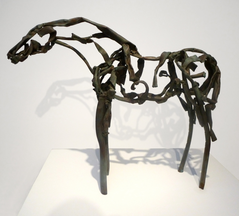 Deborah Butterfield Copper Cliff, 2012 found copper, welded, with patina 37 x 46 x 13 inches DANESE/COREY Gallery, New York