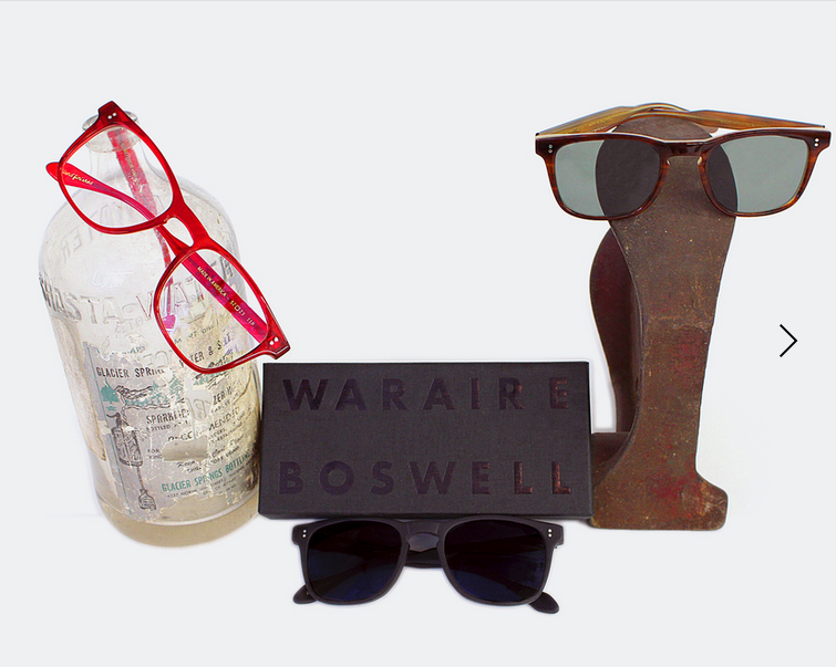 A small selection of eyewear from GLCO x Boswell