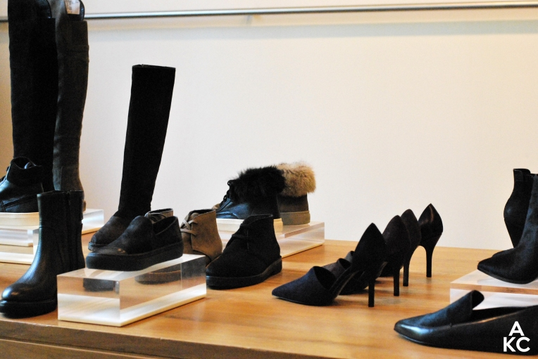 Vince FW14 footwear collection; to die for.